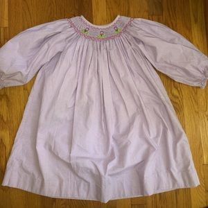 Other - Smock Dress, Zuccini girls size 6 lavender plaid